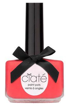 Ciaté Duochrome Paint Pot available at Ciate Nail Polish, Neutral Nail Polish, Nail Polish Trends, Nail Polish Colors, Nail Polishes, Beige Nail, Hot Nails, Painted Pots, Holiday Nails