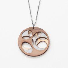 Elliptoid Necklace by Molly M Designs | http://adornmilk.com