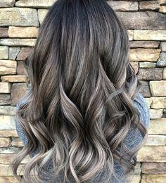 Like 150 times, 5 comments - Jasmine Prado ( . Ash Hair, Ombré Hair, Hair Day, Hair Color And Cut, Permanent Hair Color, Balayage Hair, Haircolor, Hair Highlights, Hair Looks