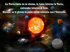 Tera , luna e sole