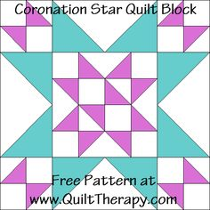 Quilt Therapy – Saving Sanity through Quilt Therapy – One Stitch at a Time Star Quilt Blocks, Star Quilts, Mini Quilts, Block Quilt, Barn Quilt Patterns, Pattern Blocks, Quilting Patterns, Quilting Ideas, Quilting Tutorials