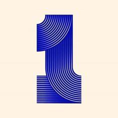 Number set in progress? : Number set in progress? Typography Logo, Graphic Design Typography, Logos, Number Typography, Typo Design, Layout Design, Icon Design, Design Art, Design Ideas