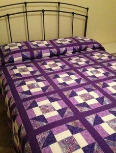 191 best Quilt Inspiration - Purple