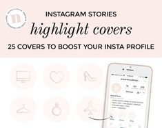 Instagram Story Highlight Covers for Influencers & Bloggers | Etsy