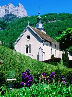 Church in the Village of Talloires, France