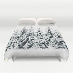 Snow Porn Duvet Cover