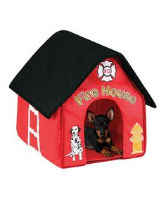Take a look at this Firehouse Pet House by Etna Products on #zulily today!