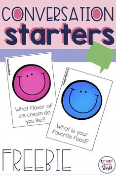 Social Skills 224687468894076781 - Work on a variety of speaking and listening skills with these free conversation cards! Great for speech therapy and classroom activities! Social Skills Activities, Autism Activities, Speech Therapy Activities, Language Activities, Classroom Activities, Public Speaking Activities, Friendship Activities, Social Skills For Kids, Social Games