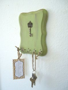Key Holder Key Hook French Country Decor Skeleton by TheHopeStack, $13.50