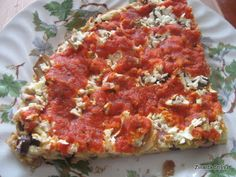 Zinnaida : PIZZA RAPIDĂ Pizza, Fun Cooking, Lasagna, Quiche, Breakfast, Ethnic Recipes, Food, Morning Coffee, Essen