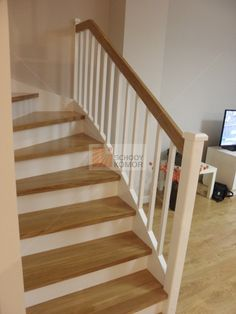 schody w domu jednorodzinnym pod opolem Stairs, Interior, Books, Home Decor, Ladder, House Staircase, Banisters, Quartos, Homes