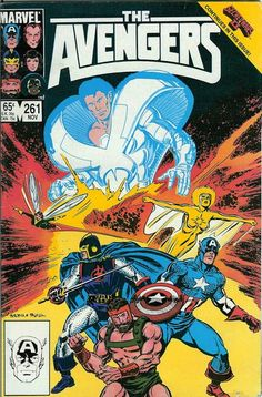 Avengers # 261 by John Buscema & Tom Palmer