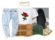 """"""""""" by eazybreezy305 on Polyvore featuring The Hundreds, INC International Concepts, NIKE, cute, simpleoutfit and 2017"""
