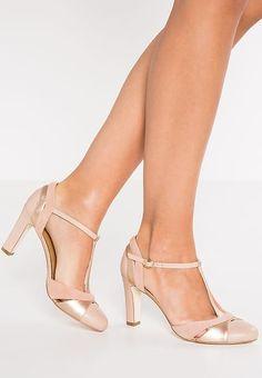 Chaussures mint&berry Escarpins - nude chair: 60,00 € chez Zalando (au 03/02/17). Livraison et retours gratuits et service client gratuit au 0800 915 207. #weddingshoes