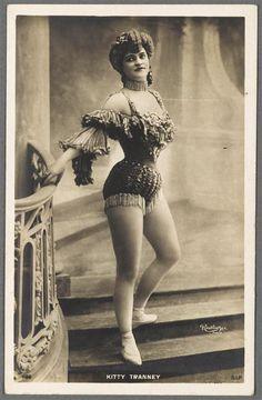 turnofthecentury:  Reutlinger ~Kitty Tranney,c.1900 via RMN