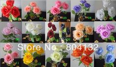 """Cheap Decorative Flowers & Wreaths on Sale at Bargain Price, Buy Quality artificial flower decor, artificial rose flower, artificial flower rose from China artificial flower decor Suppliers at Aliexpress.com:1,Type:Decorative Flowers & Wreaths,Rose 2,artificial flower:chinese style 3,Model Number:25cm/9.84"""" 4,Brand Name:made in china 5,Kind:Display Flower"""
