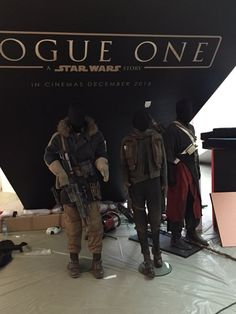 New Photos of Costumes from ROGUE ONE: A Star Wars Story