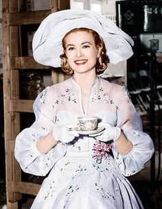 HIGH SOCIETY, Grace Kelly, on set, 1956//