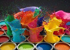 Vivid color posted by MELANCHOLY LIGHT via malinconialeggera.tumblr.com