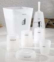 Neo Polypropylene Bath Accessory Set