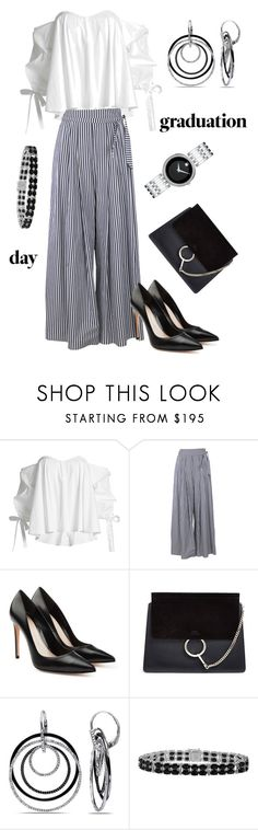 """""""Untitled #39"""" by stellafes ❤ liked on Polyvore featuring Caroline Constas, Federica Tosi, Alexander McQueen, Chloé, Ice and Movado"""