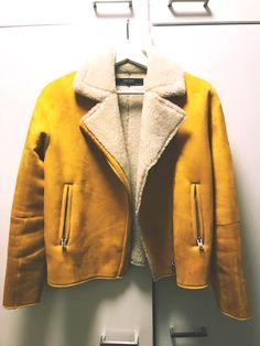 Retail Price, Fur Coat, Zara, Yellow, Jackets, Fashion, Down Jackets, Moda, Fashion Styles