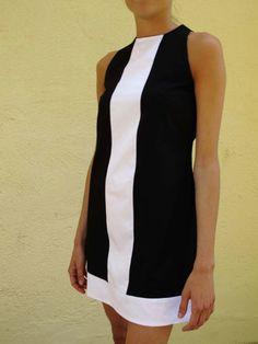 black mod dress by ErysNoir on Etsy, €55.00