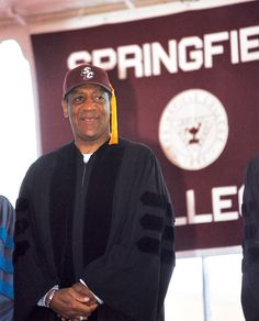 Bill Cosby, commencement speaker and Honorary Degree Recipient 2002