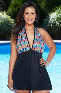 5f5479f2059 Plus-Size Designers - Designer Plus-Size Swimwear