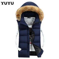 2015 Winter New Leisure Cotton Gilet Mens Slim Vest Couples Colete  Masculino Vest Men Waistcoat Sleeveless 788691f30
