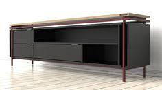 Das Tiet Sideboard mit Fächern