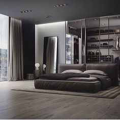 """75 Likes, 4 Comments - Style Estate (@styleestate) on Instagram: """"This bedroom #design... @gentleman__world #classy"""""""