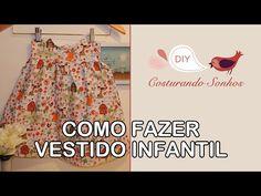 DIY Como fazer vestido para bebê passo a passo - YouTube