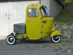 Vespa Ape, Vespa Lambretta, Vespa Scooters, Motorized Tricycle, Vintage Moped, Piaggio Ape, Scooter Custom, Microcar, Scooter Motorcycle