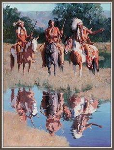 D Mann-Cheyenne Summer Native American Paintings, Native American Pictures, Native American Artists, Indian Paintings, Native American Warrior, Native American Wisdom, Native American History, American Indian Art, American Indians