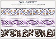 Semne Cusute: traditional Romanian motifs - OLTENIA Dolj-Romanati