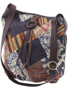 $159.00  Echo Park Patchwork Shoulder Bag by Lucky Brand