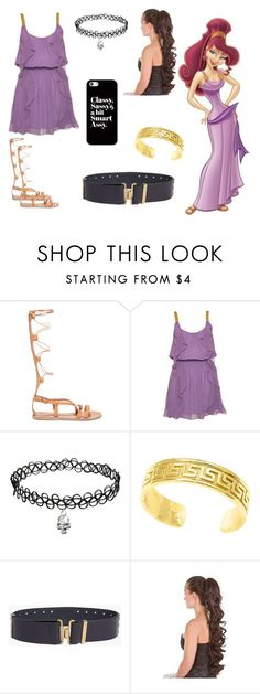 """""""Megara"""" by nightwing02 on Polyvore featuring Ancient Greek Sandals, Dsquared2, Casetify, disney, hercules, disneybound and Megara"""