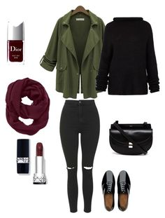 """""""Love Shopping"""" by carolarepetto on Polyvore featuring Topshop, FitFlop, Chloé, Haider Ackermann, Athleta and Christian Dior"""