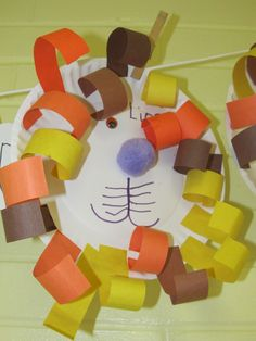 preschool fall crafts | Here are some lion crafts your children -- from preschool through ...