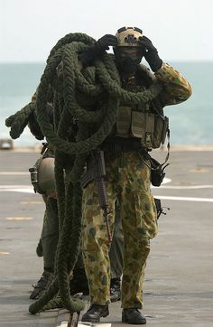 Australian SASR (Special Forces) soldier