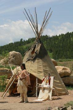 Tipi of the Lakota Sioux of Western South Dakota
