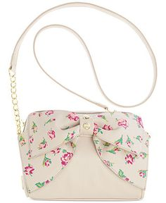 Betsey Johnson Bow Crossbody - Handbags & Accessories - Macy's #12daysofbj