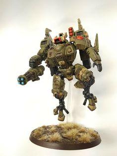 XV 86 Coldstar Battlesuit - Tau Commander