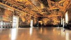 The Great Council Hall in Doge's Palace