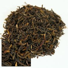Ceylon Blackwood Estate Organic Green Tea.  Prices range from $3.30 (1 oz) to 48.20 (1 lb). Blackwood is a section of the Idulgashinna Organic Tea Gardens, which is the world's first organic certified garden in the world and is also Fair Trade certified.  You'll enjoy savoring the lovely citral notes found in this delicious organic green tea from the Blackwood Estate. The olive green leaves produce a clear golden cup with a more full bodied taste than most green teas.