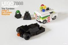 LEGO Batman 7888 Pocket Edition – The Tumbler: Joker's (micro) Ice Cream Surprise par CAB & Tiler