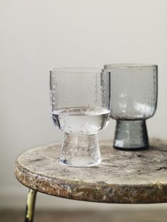 Lovely etched glasses. via - remain simple.