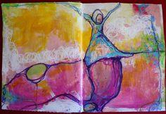 Dirty Footprints Studio: Painting The Feminine :: Shadow Dancing