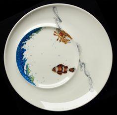 Peinture sur porcelaine - Peinture sur porcelaine, peinture sur verre, fusing, cours, atelier